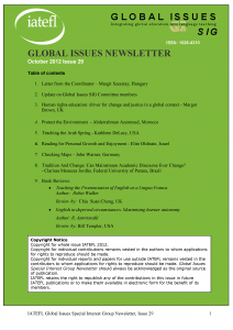 Click here to download sample newsletter