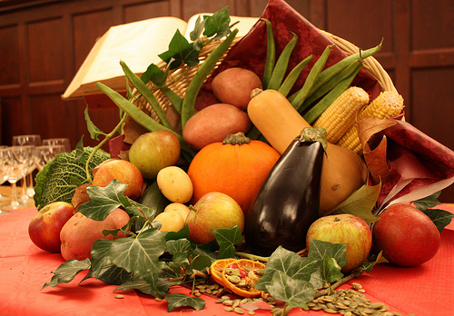 It was a cornucopia of ideas for Food Issues Month!