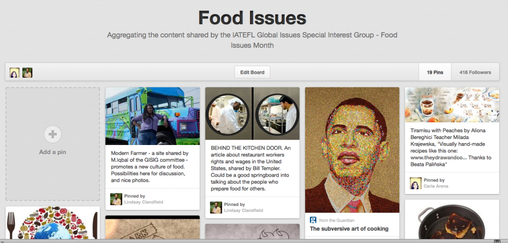 Click here to see all the great resources being shared for Food Issues month!