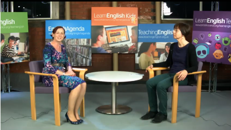 Interview with Margit Szesztay at IATEFL Manchester 2015